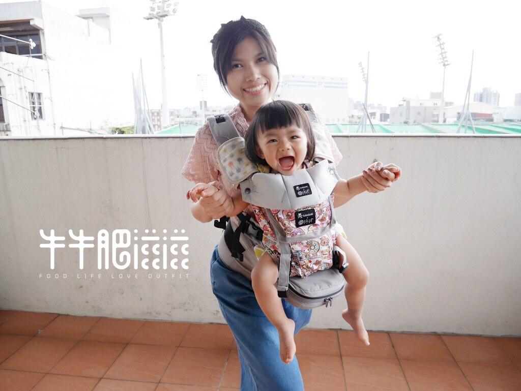 育兒│líllébaby嬰兒揹巾‧SeatMe。適合大寶寶的多功能腰凳型揹巾‧可前揹*
