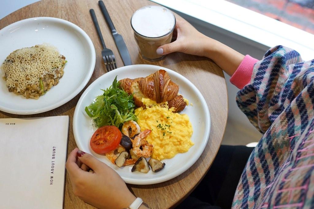 台北大安區│BRUN不然早午餐‧義式料理。餐點優於裝潢!近捷運忠孝敦化站*