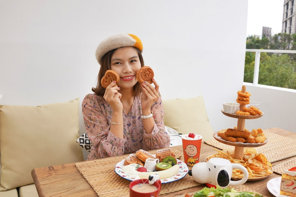 新竹早午餐│Mum,Mum饅饅好食。全新度假風天台座位‧史努比早午餐(二訪)