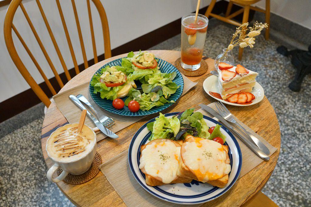 新竹美食│階段甜點。來自母女倆的手作甜點與輕食‧巷弄中的老宅咖啡廳!