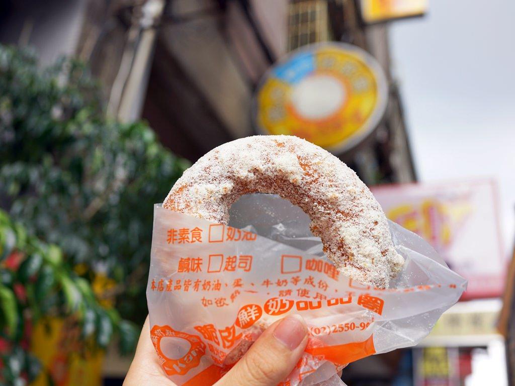 台北大同區│台灣人ㄟ脆皮鮮奶甜甜圈-台北店。華陰街排隊甜甜圈‧台北車站周邊美食*