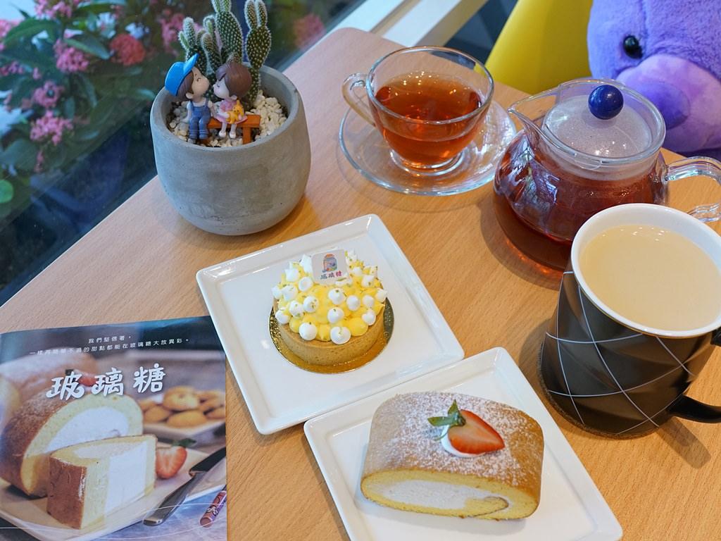 新竹竹北甜點│玻璃糖精緻西點屋。日本藍帶師傅‧手工精緻甜點‧客製化蛋糕‧彌月禮盒*