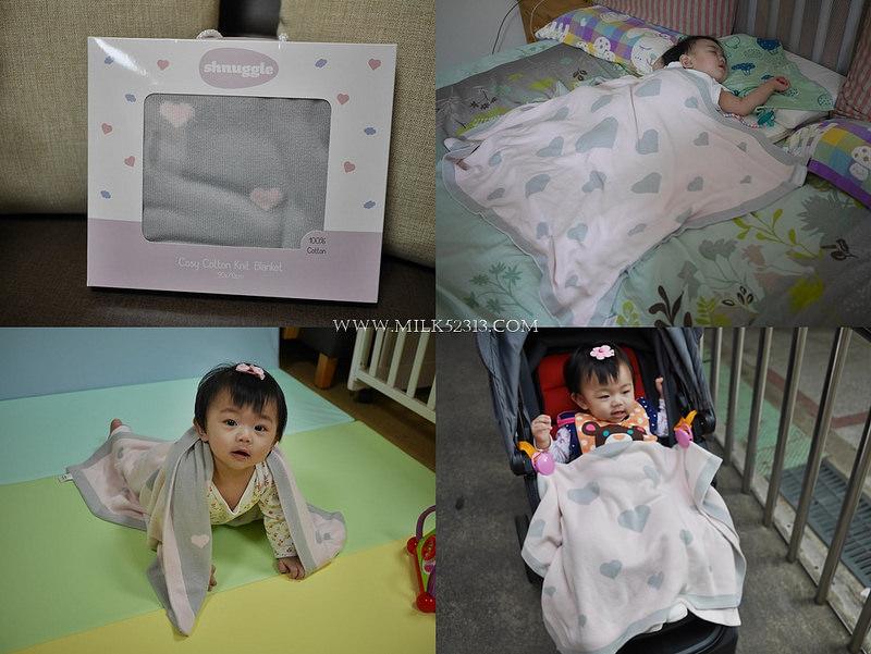 育兒│英國 Shnuggle 舒芙蕾寶寶毯。給寶寶純棉的呵護‧輕柔舒適的萬用寶寶毯*